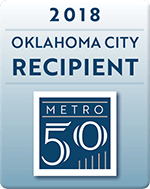 AtLink is the recipient of the 2108 OKC Metro 50