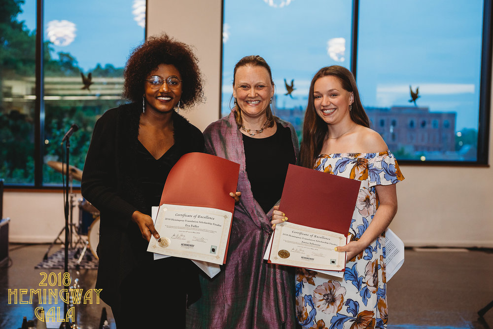 Hemingway Scholarship award finalists
