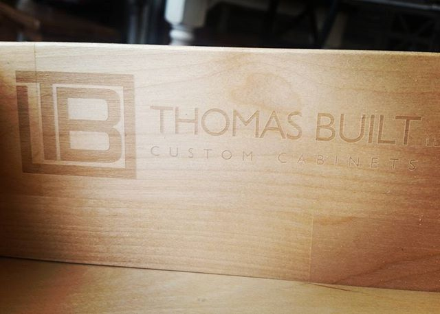 New brand on dovetail drawer boxes.