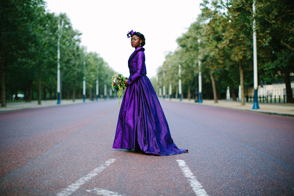 City Burlesque Shoot, Wedding Photographer, Purple wedding dress, London Wedding, Jessica Jill Photography, South East Wedding Photographer, London wedding photographer, Unusual wedding dress, bespoke wedding dress