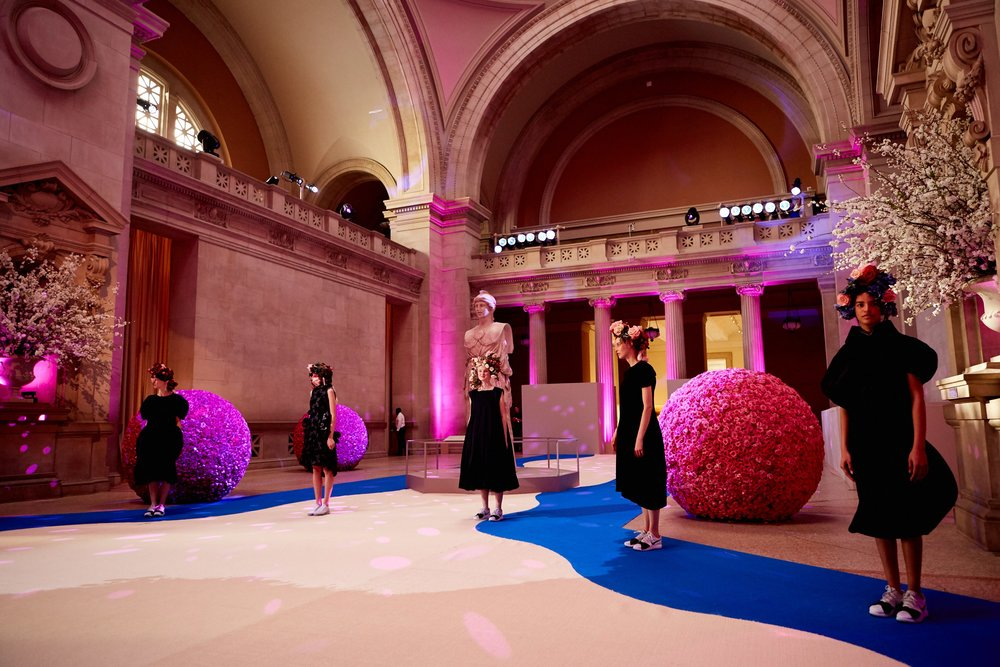 Met Gala Entry Hall