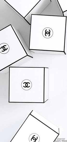 B&W Chanel - Need we say more.  Save every box and stack them in your dressing room.  You'll look organized and chic!