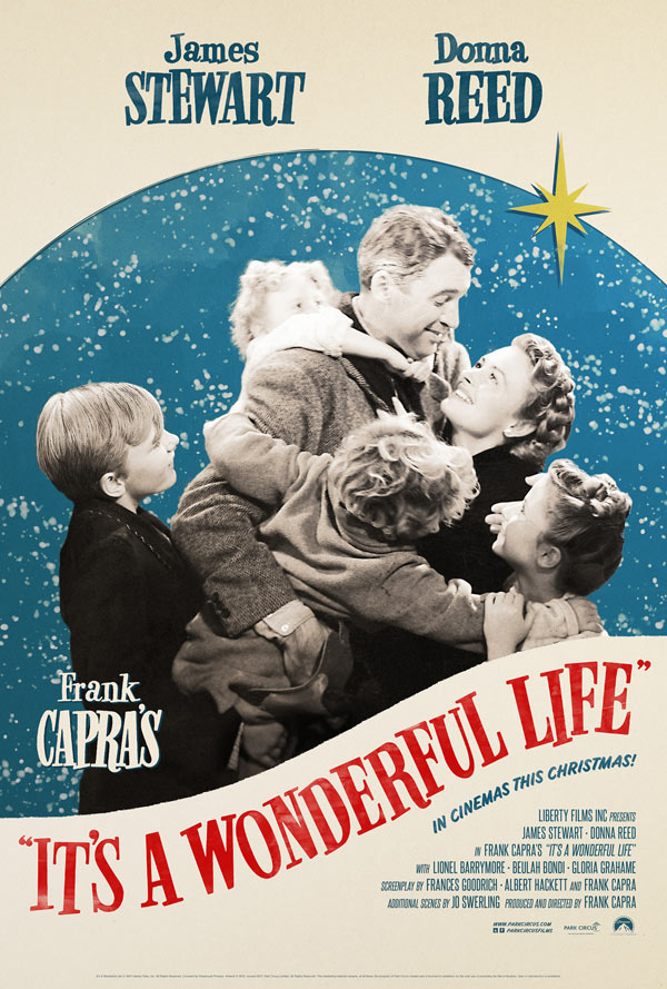 It's a Wonderful Life - Our Christmas Eve must watch.  This movie has been inspiring us since childhood and will continue to long into the future.  We long for more men like George Bailey.  It really is a wonderful life!