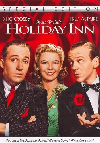 Holiday Inn - Anything with Bing Crosby for us, please!  The dancing, singing, costumes, and sets are stunning!  We wish we were being fought over by Bing and Fred Astaire!