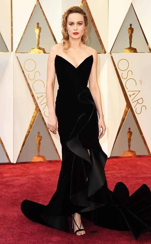 Brie Larson - 2017 in Oscar de la Renta