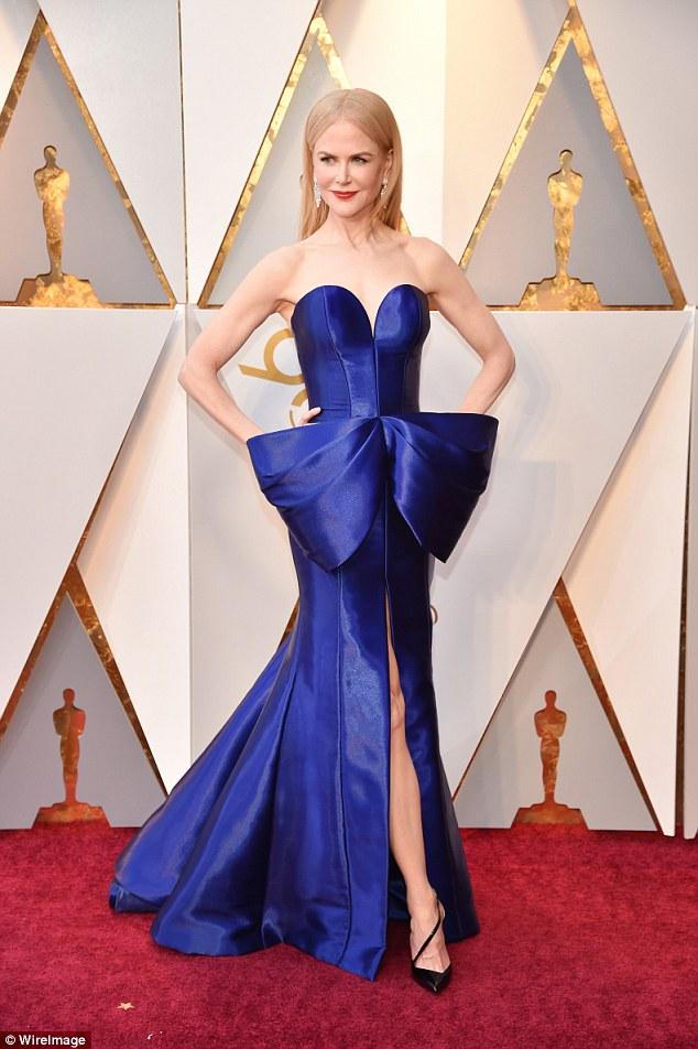 Nicole Kidman - 2018 in Armani Privé