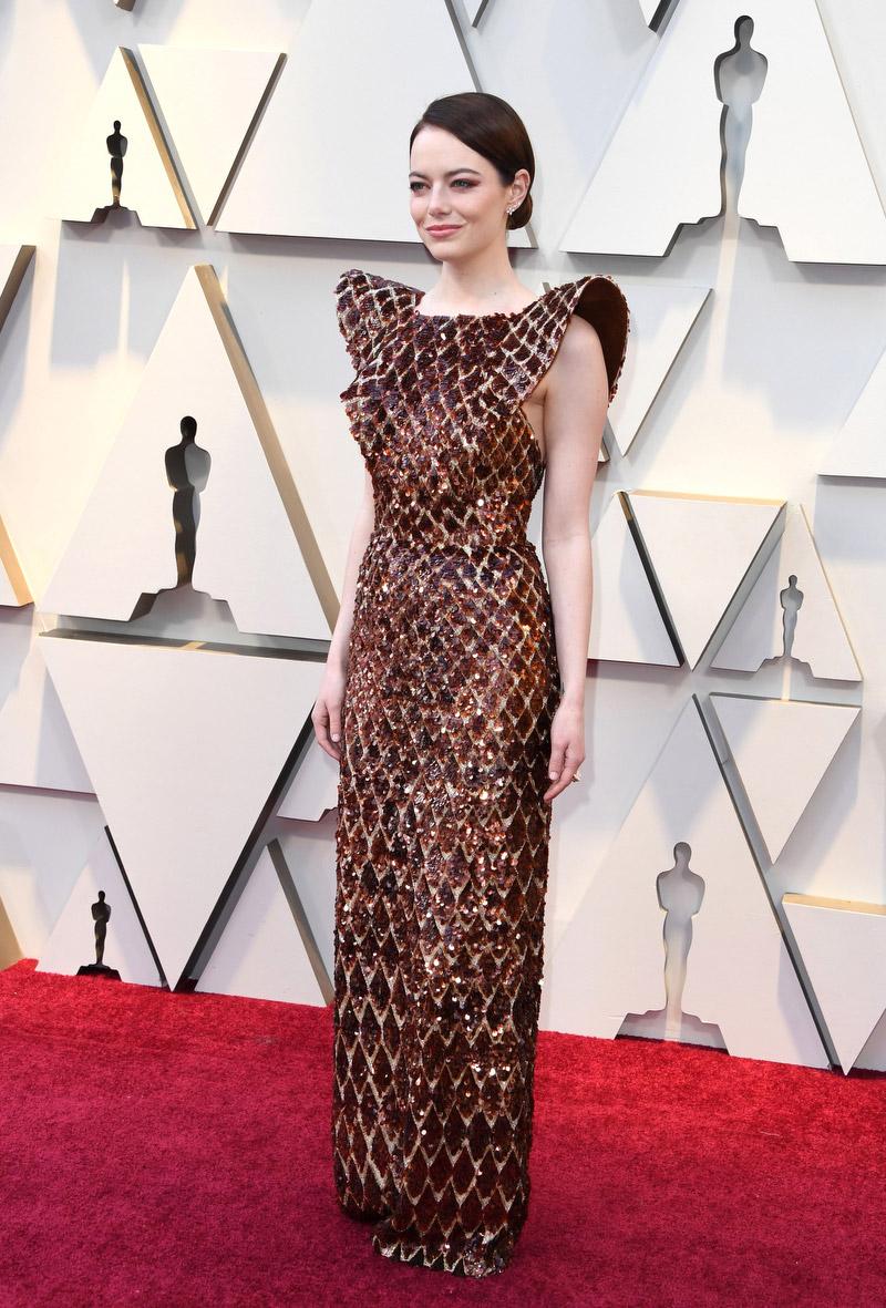 Emma Stone - in Louis Vuitton