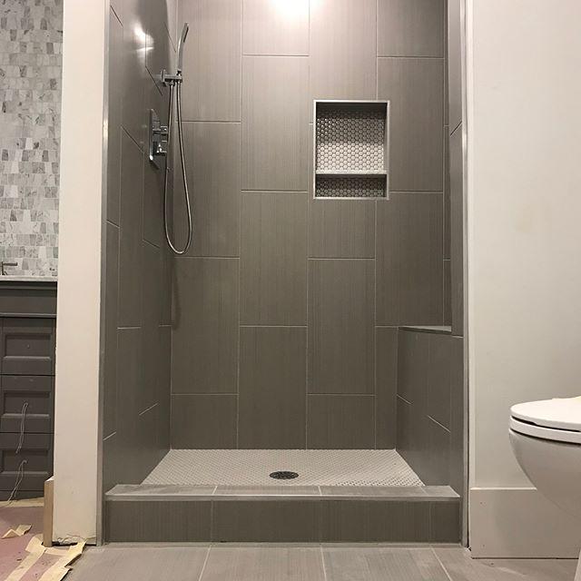 Xerxes tile install. || 📍Edina, MN ||