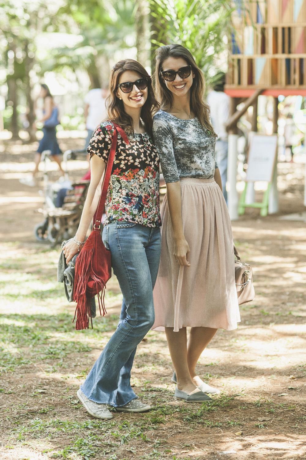 Deborah Bulow, 25, levou a amiga Priscila Gomes, 25, para aproveitar o fim de semana no festival e participar da oficina de café coado da O Cabral. As duas valorizam comprar de quem faz e queriam conferir os projetos manuais que há tempos acompanham pelo Instagram.