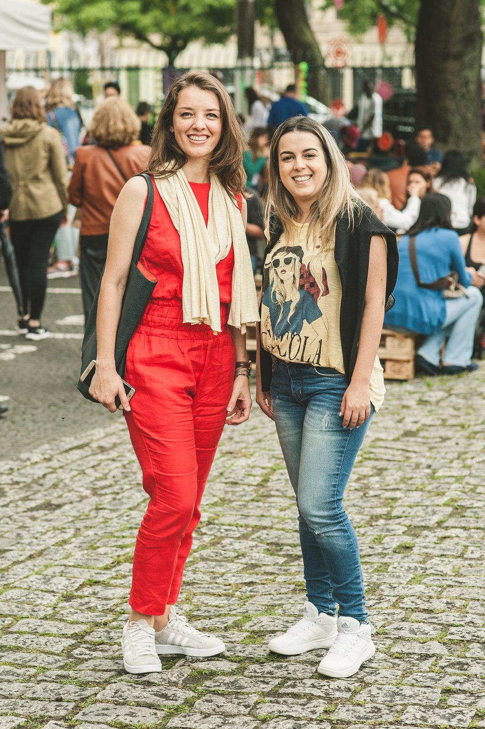 Vanessa Moreira  é fã de longa data nosso festival. Que delícia! Desta vez, levou junto a amiga Jaqueline Takai para ver as novidades dos artesãos e acompanhar os shows do evento.