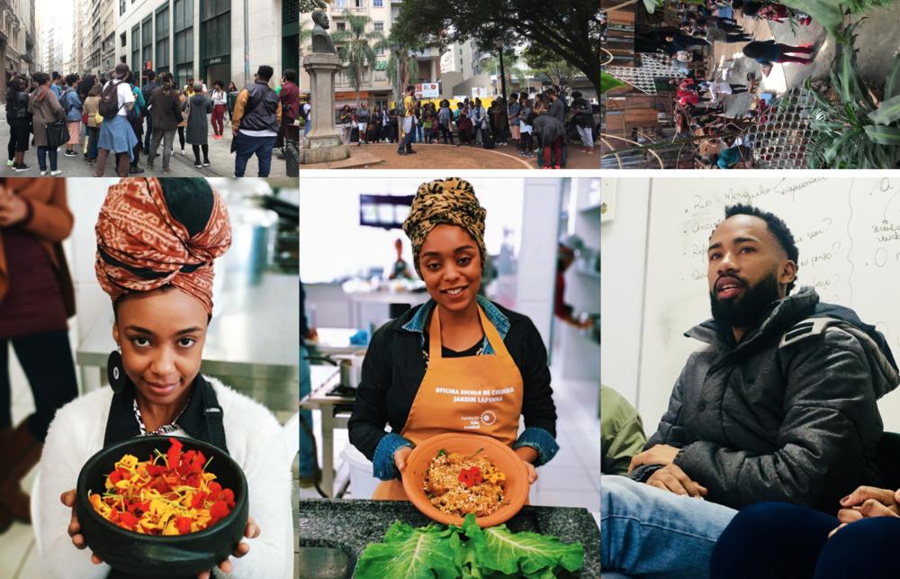 AFROLAB, programa idealizado pela Feira Preta com o objetivo de apoiar, promover e impulsionar o afro empreendedorismo no Brasil, por meio da oferta de conhecimento e capacitação com foco em inovação e inventividade.
