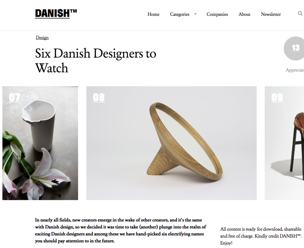 DANISH.tm Six designers to watch M&R