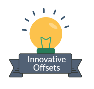 For a more in depth description of innovative offsets, download 'title of paper' -