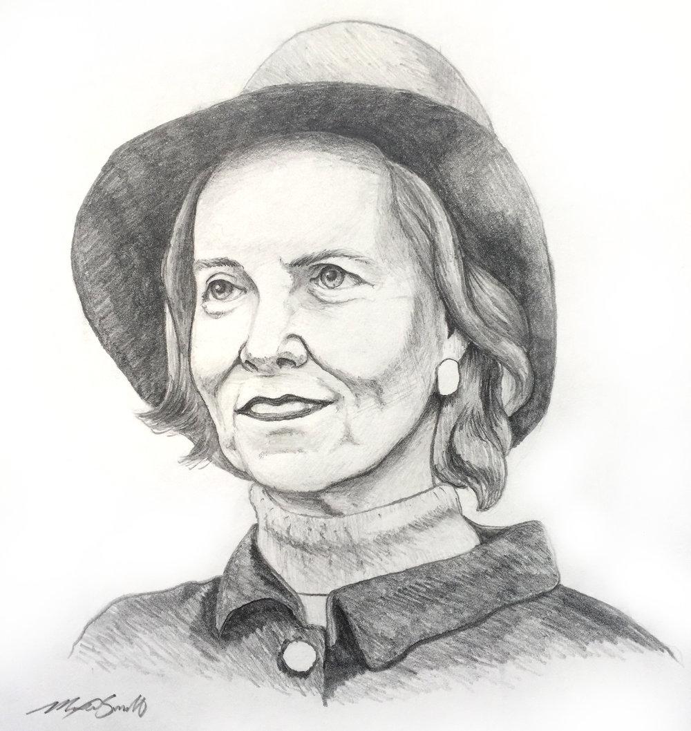 Bunny Mellon Portrait