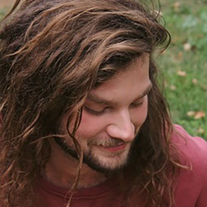 John Liles    Spring 2019 AiR  Grew up in Auburn, CA  Poetry