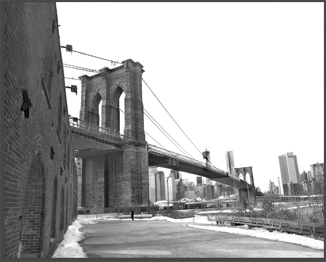 Brooklyn Bridge c.2015 by Ray Simone