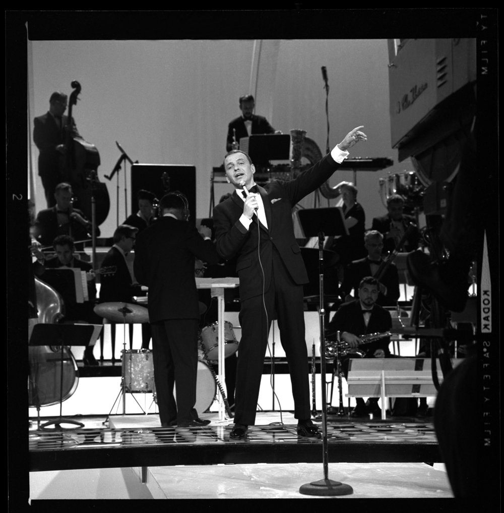 Frank Sinatra c.1965 from original 2.25 negative