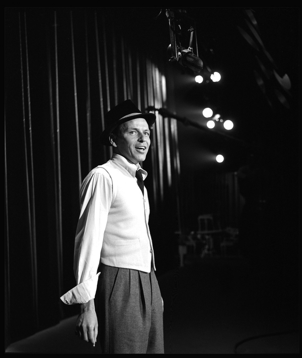 Frank Sinatra c.1955 from original 2.25 negative