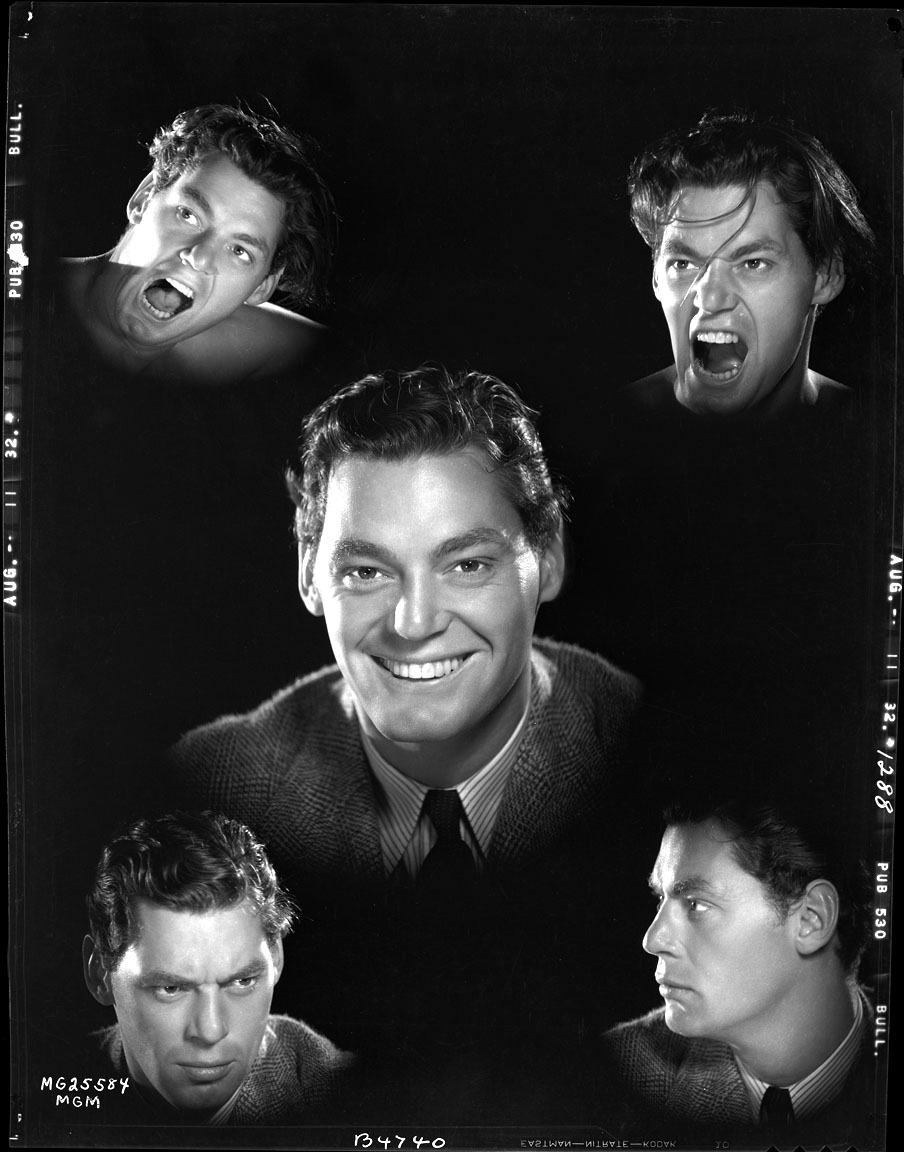 Johnny Weissmuller Screen Test Shots for Tarzan c.1932 from Original 8x10 Negative