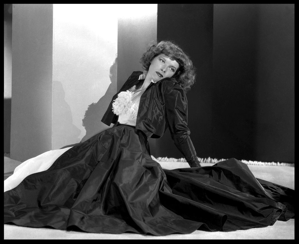 Katharine Hepburn c.1940 from original 8x10 negative