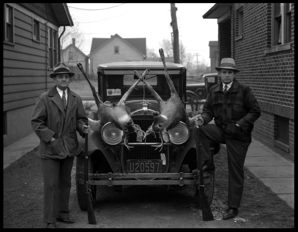 NRA Hunters 1933 from original 5x7 negative