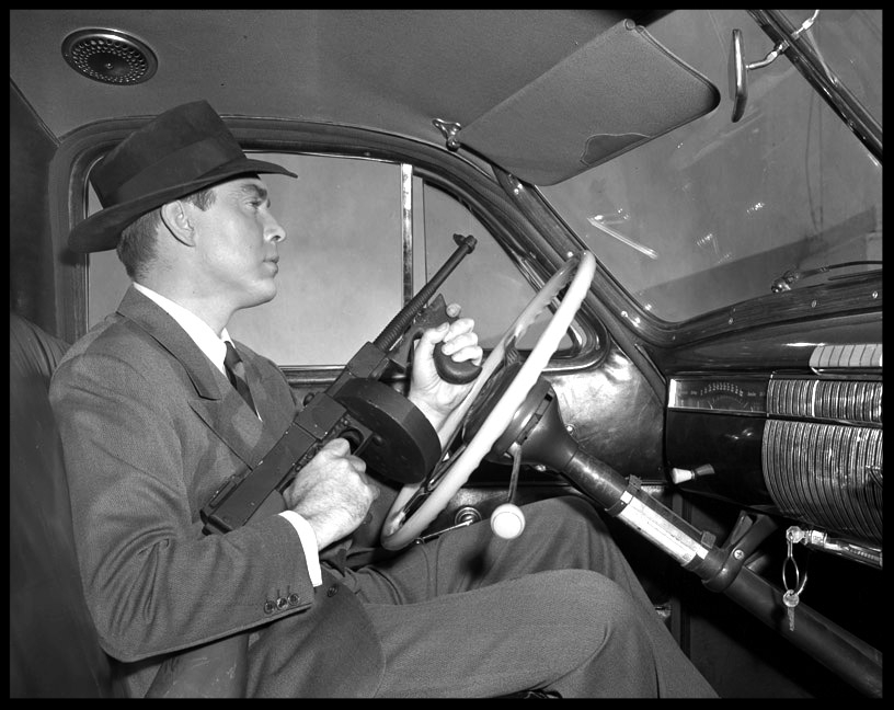 Hitman c.1947 from original 4x5 negative