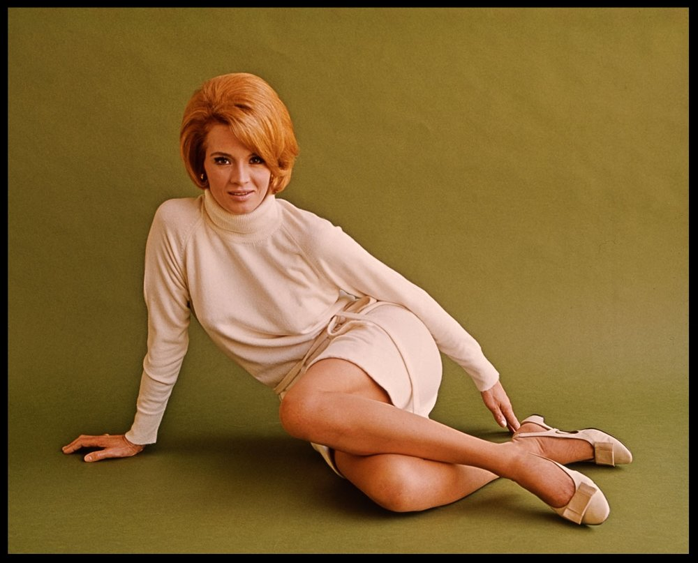 Angie Dickinson c.1970 from original 4x5 transparency, maybe by Francesco Scavullo