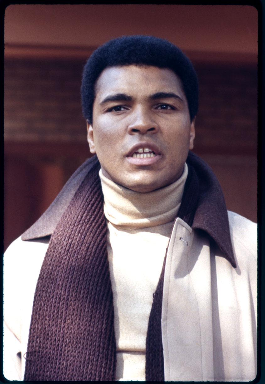 Muhammad Ali c.1970 from original 35 mm transparency