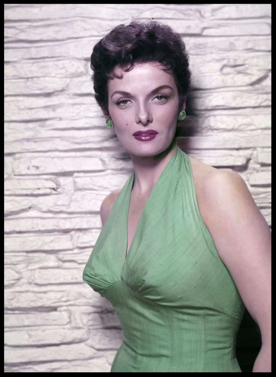 Jane Russell c.1955 from original 8x10 transparency