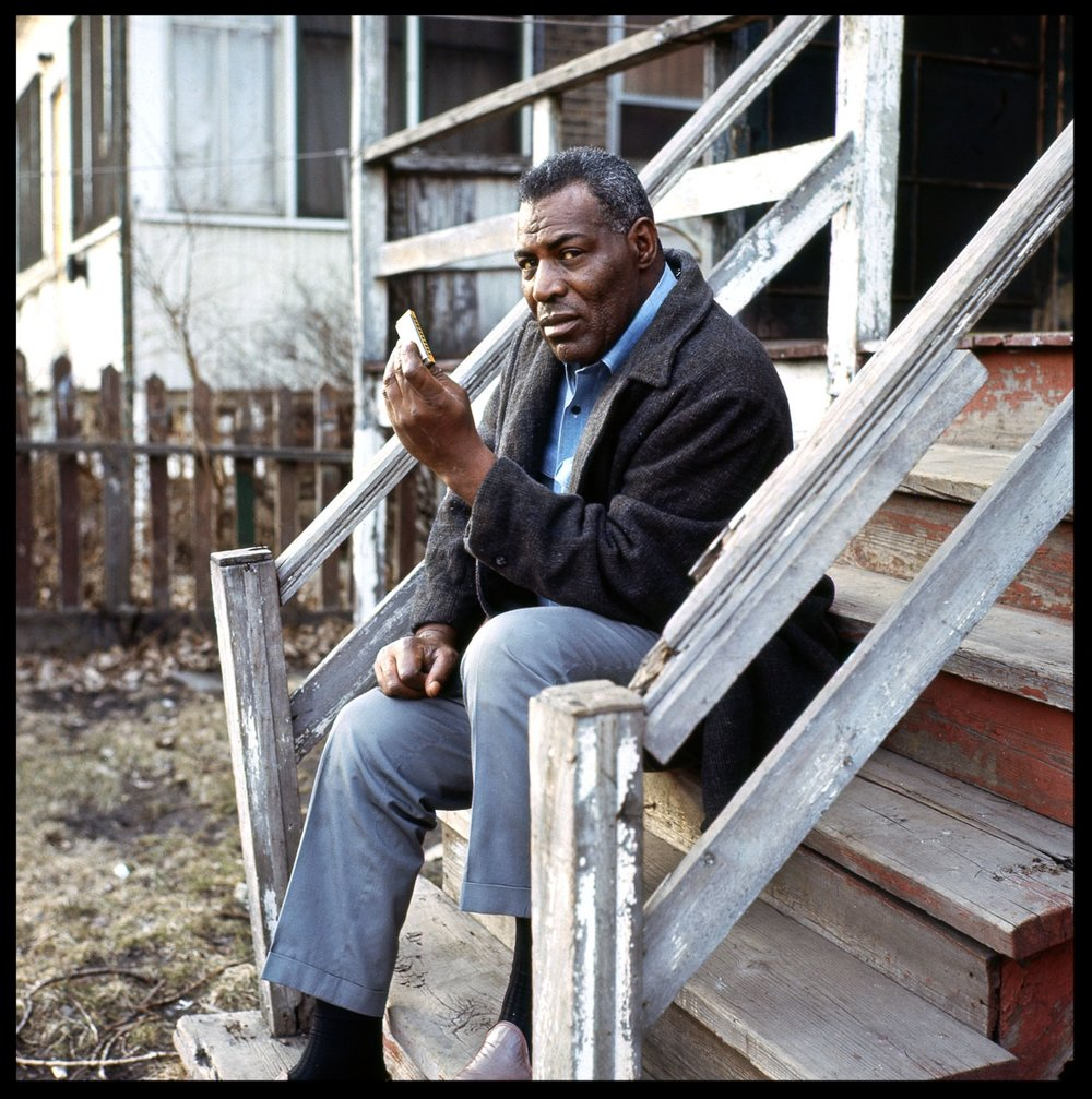 Howlin' Wolf c.1969 from original 2.25 tranparency