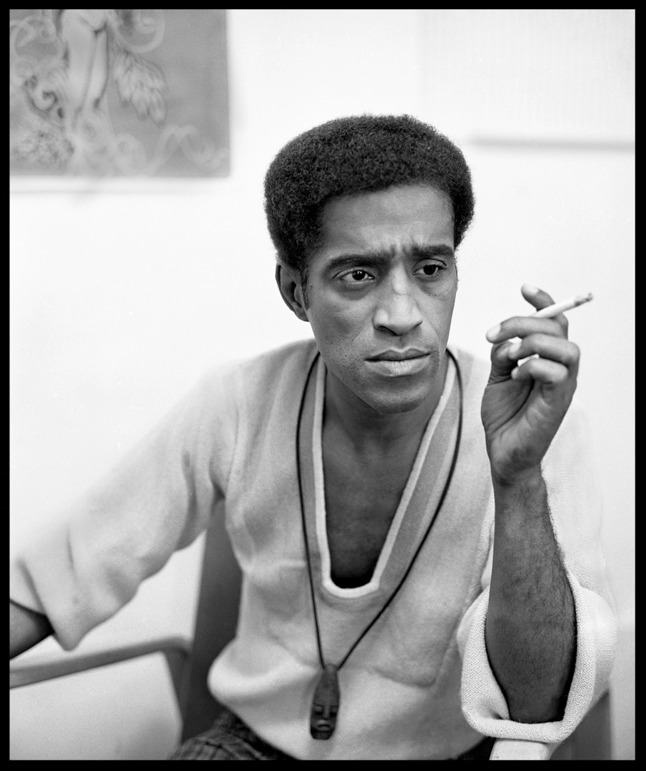 Sammy Davis Jr. c.1968 from original 2.25 negative