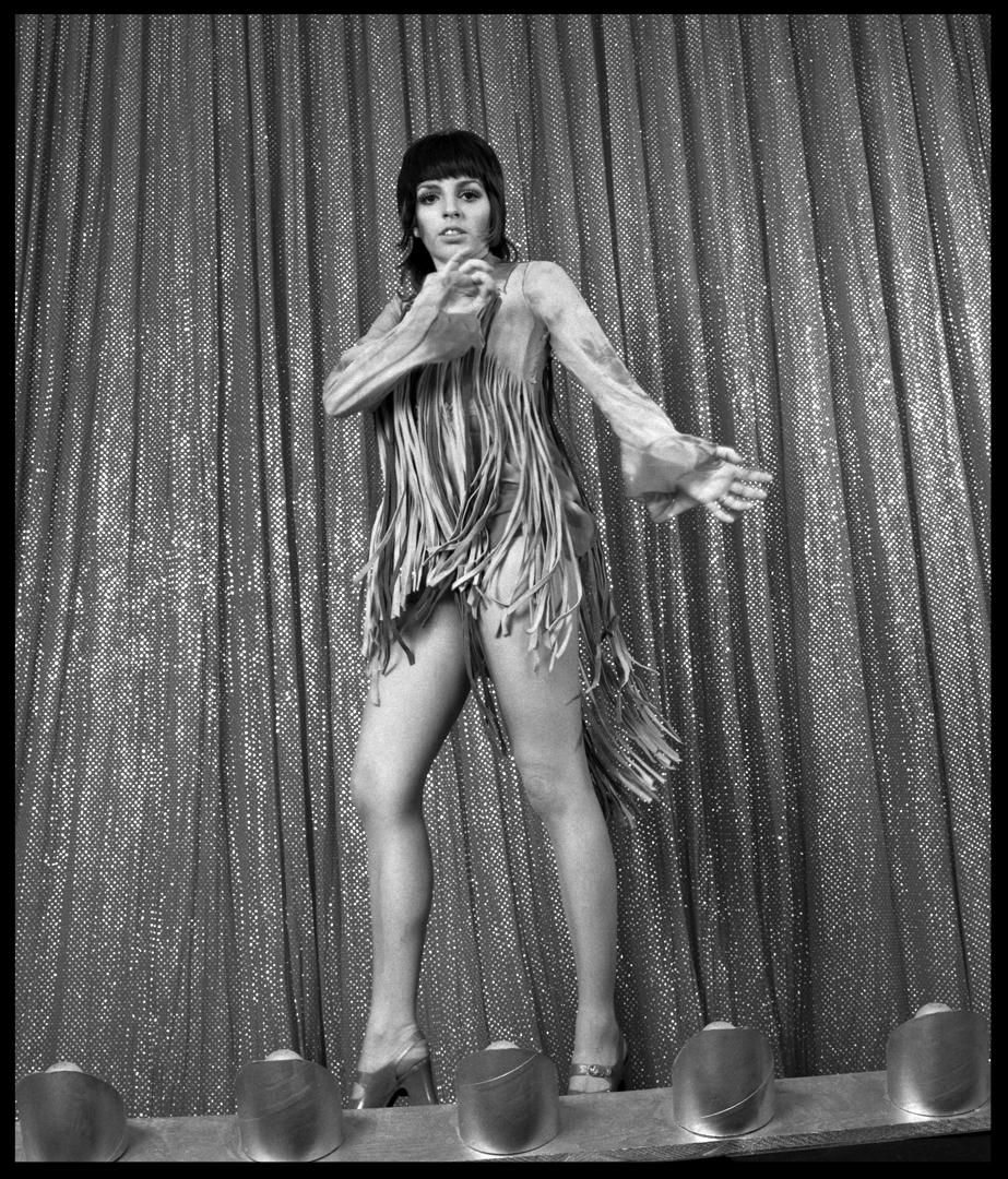 Liza Minnelli at her Prettiest Ever c.1969 from original 2.25 negative