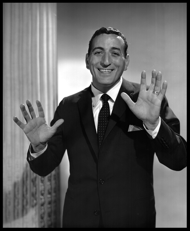 Tony Bennentt c.1952 from original 8x10 negative