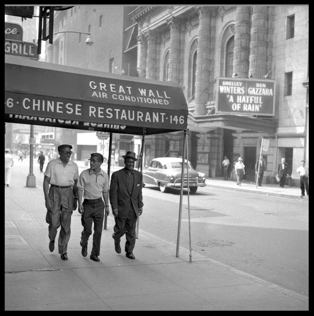 The Will Mastin Trio w/ Sammy Davis Jr. c.1957 from original 2.25 negative