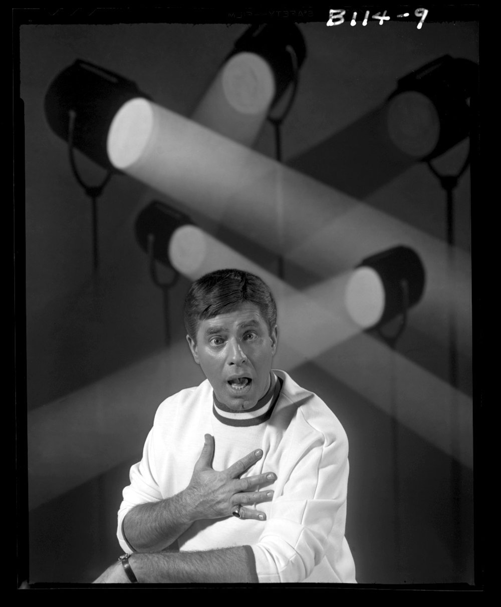 Jerry Lewis c.1965 from original 4x5 negative