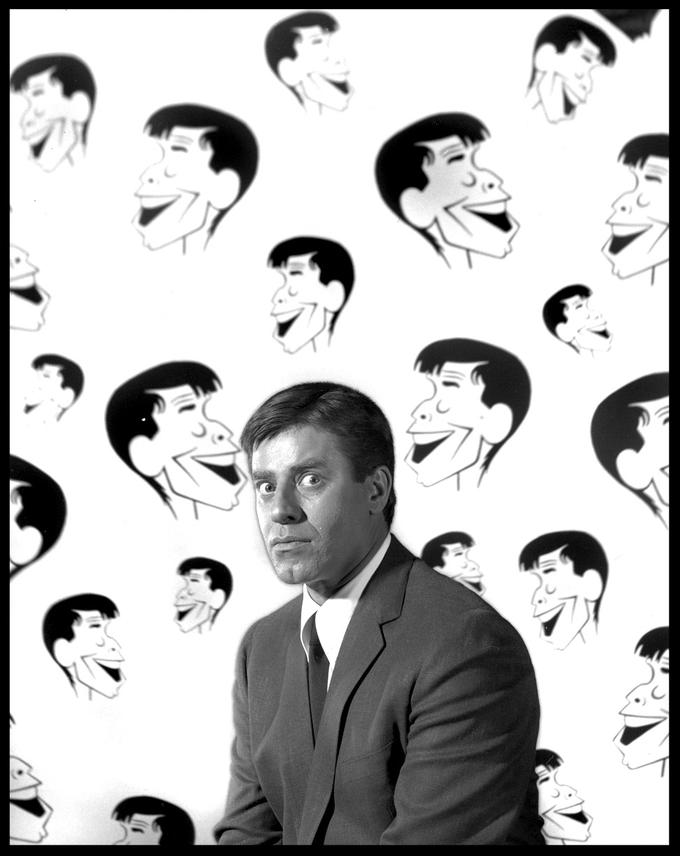 Jerry Lewis c.1960 from original 4x5 negative