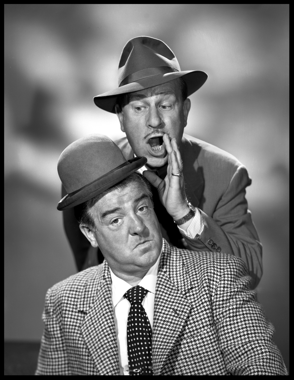 Abbott & Costello c.1950 from original 8x10 negative