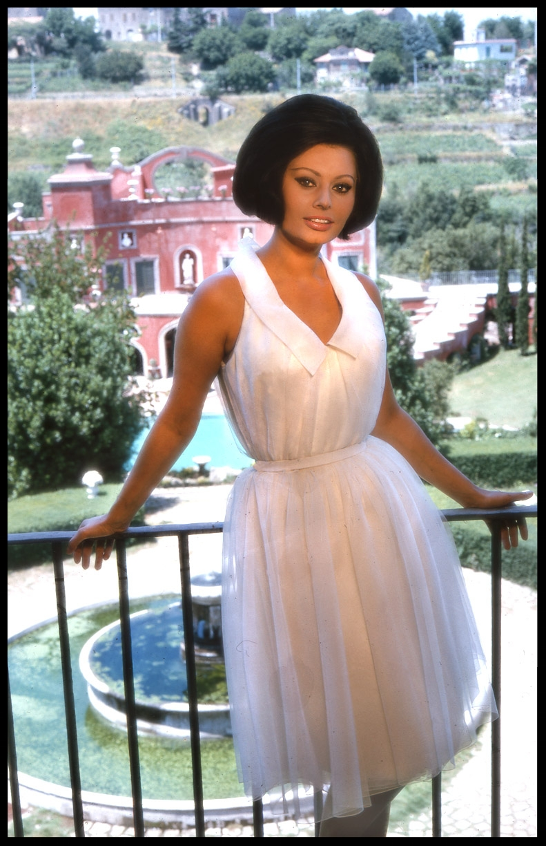 Sophia Loren c.1965 from original 35mm transparency