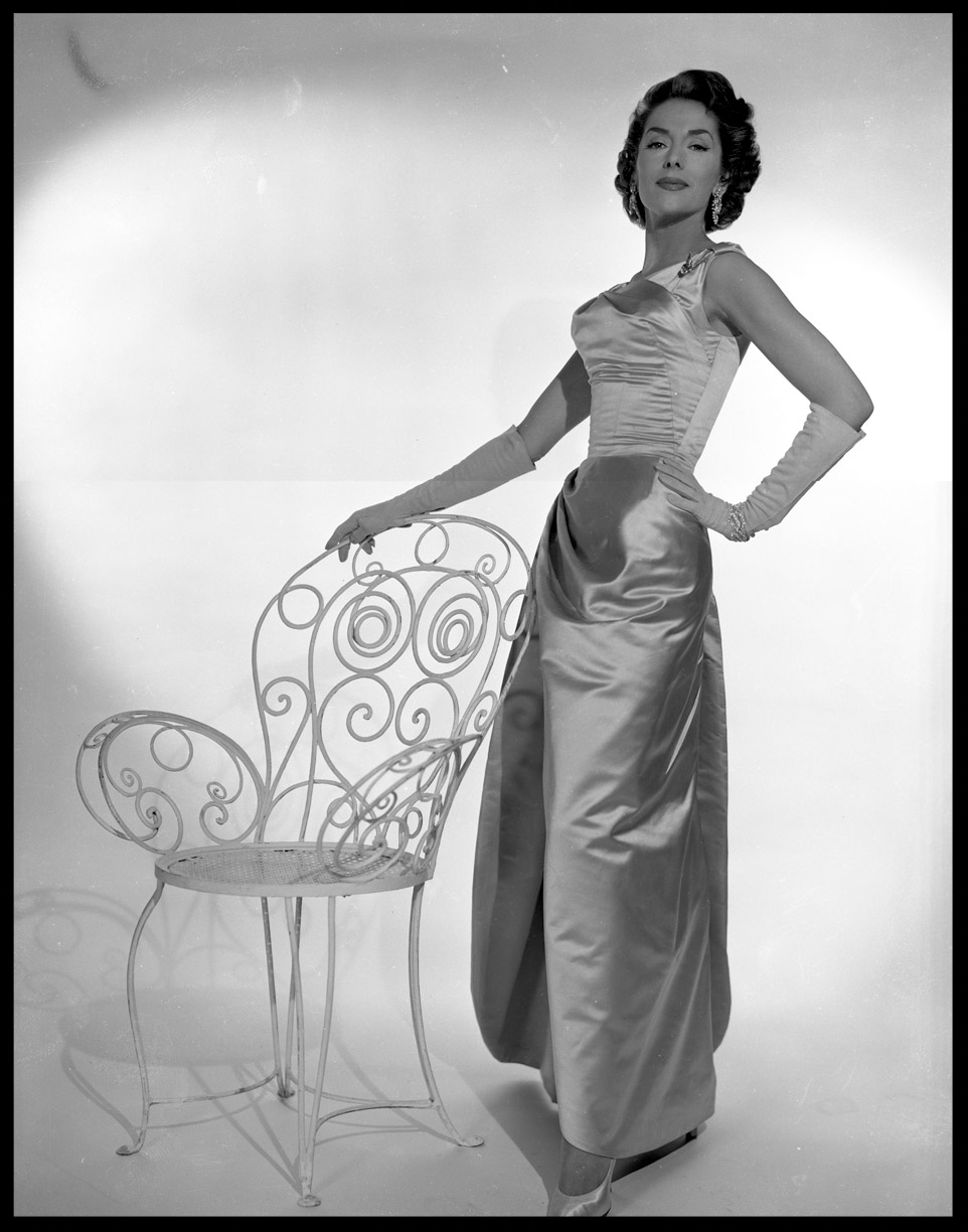 Jinx Falkenburg c.1955 from original 4x5 negative
