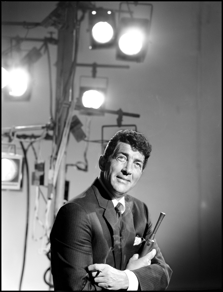 Dean martin c.1965 from original 4x5 negative
