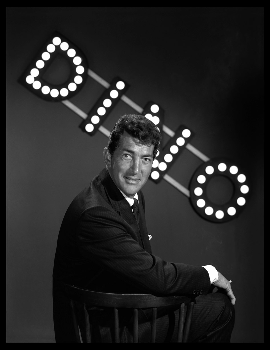 Dean Martin c.1960 from original 4x5 negative