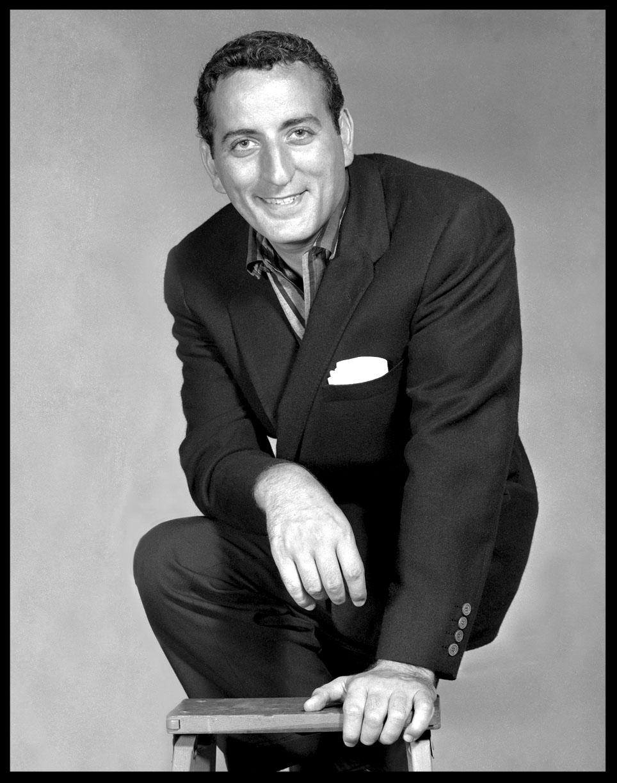 Tony Bennett c.1960 from original 4x5 negative
