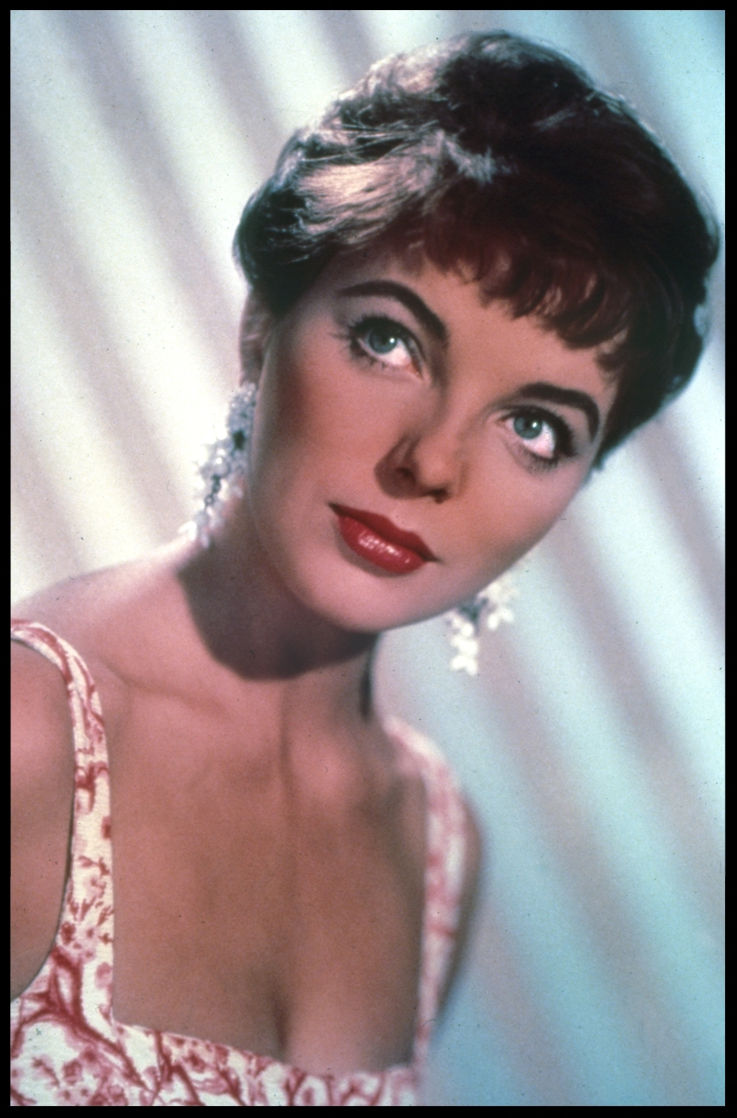 Joan Collins c.1965 from origiinal 4x5 transparency