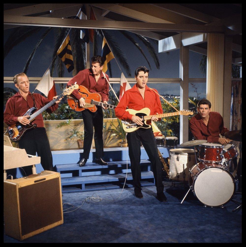 Elvis Presley c.1962 from original 2.25 negative