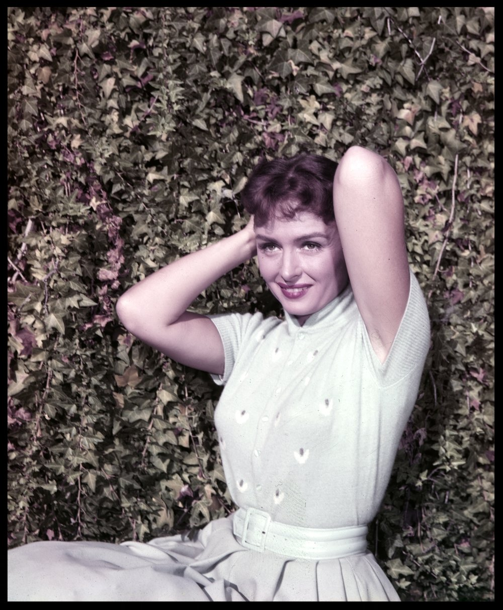 Donna Reed c.1958 from original 4x5 transparency