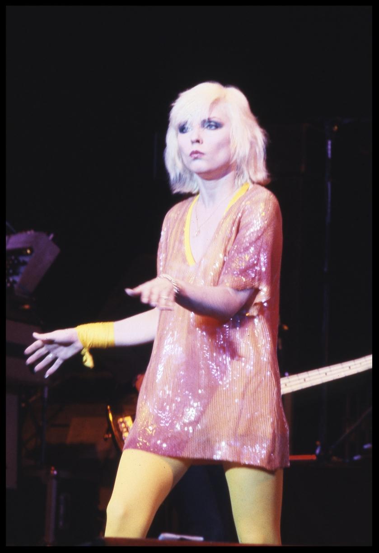 Debra Harry Blondie c.1984 from original 35mm transparency