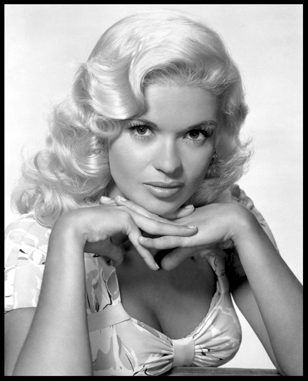Jane Mansfield c.1957 from original 4x5 negative