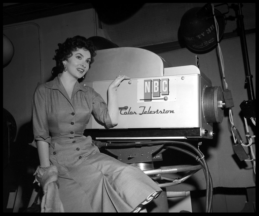 Gina Lollobrigida c.1958 from original 4x5 negative