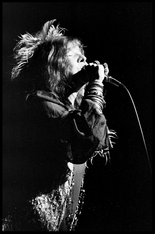 Janis Joplin c.1968 from original 35mm negative