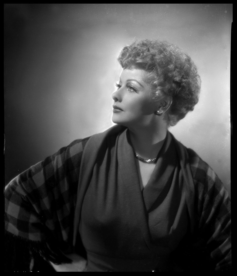 Lucille Ball c.1949 from original Paramount Pictures 8x10 negative